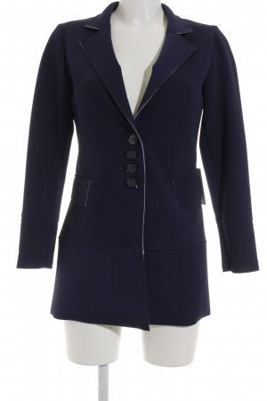 Vanity Long-Blazer blau Business-Look