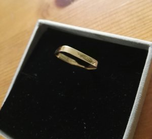 vanrycke Ring 18 Karat roségold
