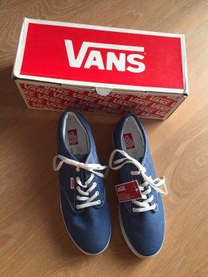 Vans Skater Shoes steel blue
