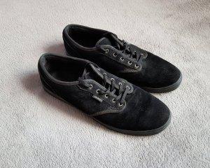Vans Skater Shoes black suede