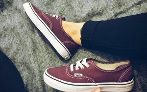 Vans authentic bordeaux 36,5