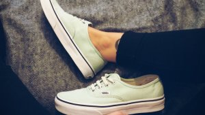 Vans authentic mint 37