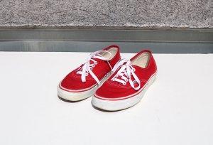 Vans Authentic Rot 38,5 Cosy Sneaker Skater Old Skool