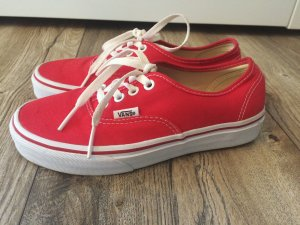 Vans Authentic rot Größe 36