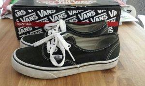 Vans authentic schwarz weiß 36,5