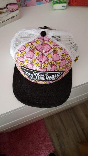 vans Base cap weiß/pink