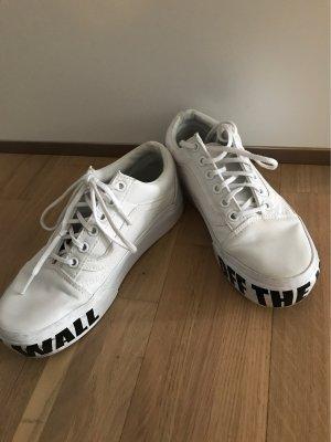 Vans High Top Sneaker white-black