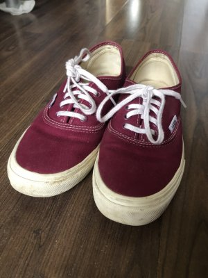 Vans Skater Shoes blackberry-red-white