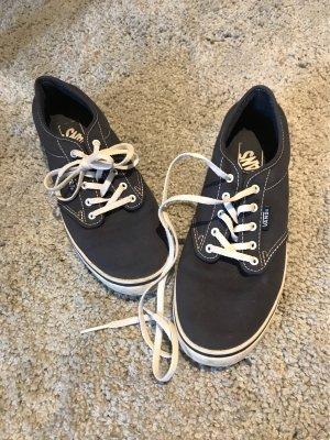Vans Lace-Up Sneaker dark blue