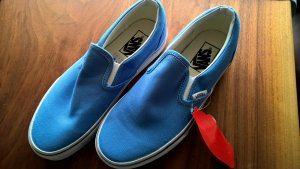 Vans Slip-on Sneakers steel blue-white
