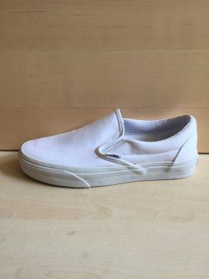 Vans Classic Slip-On Sneaker 38,5 NEU weiß