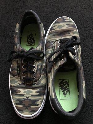 Vans Sneakers met veters zwart-khaki