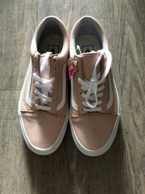 Vans echt Leder Sneaker Old Skool Gr. 38 Neu Np 90 Euro rosa