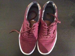 Vans Skater Shoes dark red-cognac-coloured
