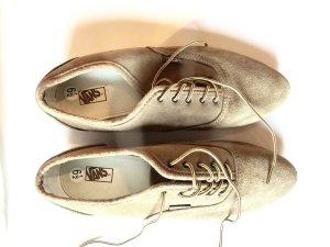 Vans Chaussures à lacets chameau