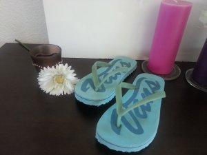 VANS Flip Flops Gr 36 37 blau