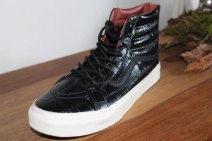 Vans Gr. 42 Croco Leather Black Echtes Leder