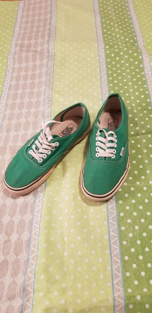 Vans Lace-Up Sneaker white-green
