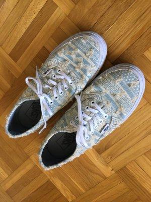 vans hellblau / beige 36,5