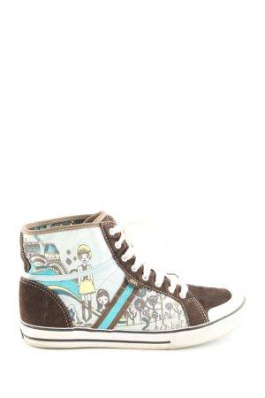 Vans High Top Sneaker mehrfarbig Casual-Look