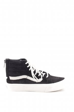 Vans High Top Sneaker schwarz Casual-Look