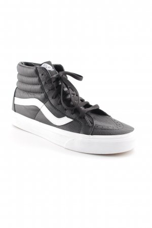 Vans High Top Sneaker schwarz-weiß Casual-Look
