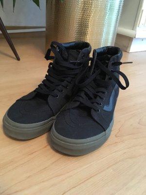 Vans - HighTop - black/olive - neuwertig - Größe 40,5