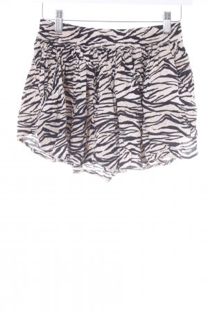 Vans Hot Pants schwarz-hellbeige Animalmuster Animal-Look