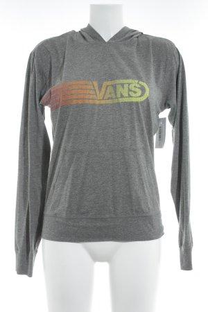 Vans Kapuzensweatshirt meliert sportlicher Stil