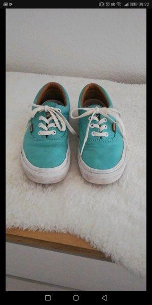 vans limited edition 36,5 türkis blau komplett Leder sneaker skate Schuhe