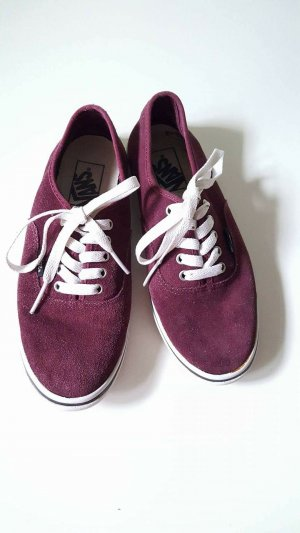 Vans Low Top Wildleder