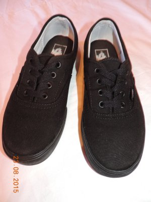 Vans Off the Wall Authentic Halbschuh Sneaker schwarz US 7 Größe 37