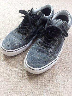 Vans Old Skool Grau-Blau-Jeans