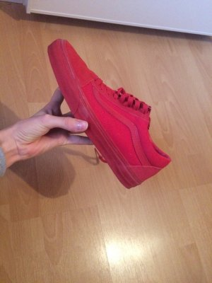 Vans old skool in rot