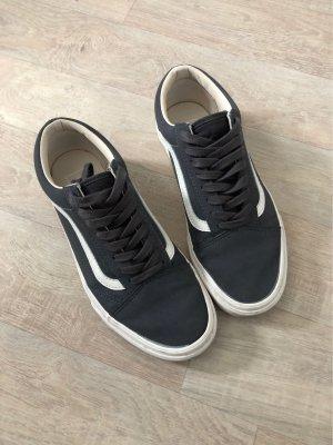 Vans Skater Shoes dark grey-white