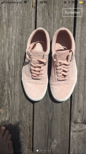 Vans Old Skool Wildleder Rosa