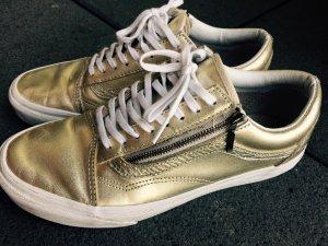 Vans Old Skool Zip Sneaker Gold