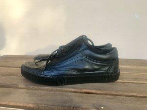 Vans Oldschool Gr.37 Leder Schwarz Echtleder selten getragen Sneaker Turnschuhe Old Skool