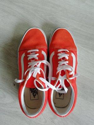 Vans Oldskool Orange Sneaker Low