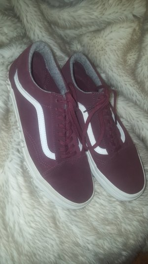 Vans ( Red Mahgny) Wildleder