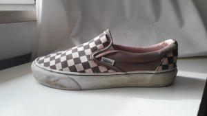Vans rosa/ braun checker print