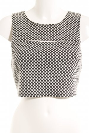 Vans Backless Top black-white check pattern casual look
