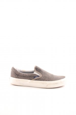 Vans Slip-on Shoes bronze-colored-black allover print casual look