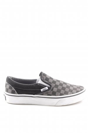 Vans Slip-on Shoes check pattern casual look