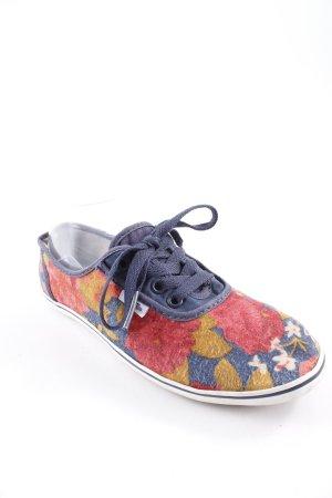 Vans Schnürschuhe florales Muster sportlicher Stil