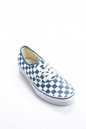 Vans Schnürschuhe weiß-stahlblau Casual-Look