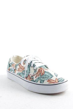 Vans Schnürsneaker florales Muster Skater-Look