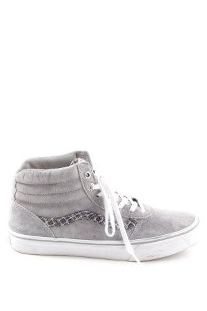 Vans Schnürsneaker grau-weiß sportlicher Stil