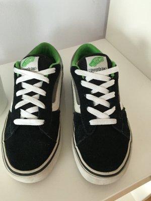 Vans Schnürsneaker schwarz-weiß-grün