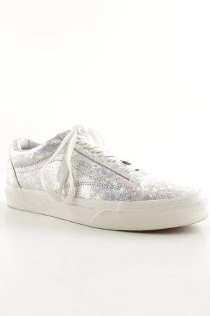 Vans Sneaker stringata argento stile stravagante